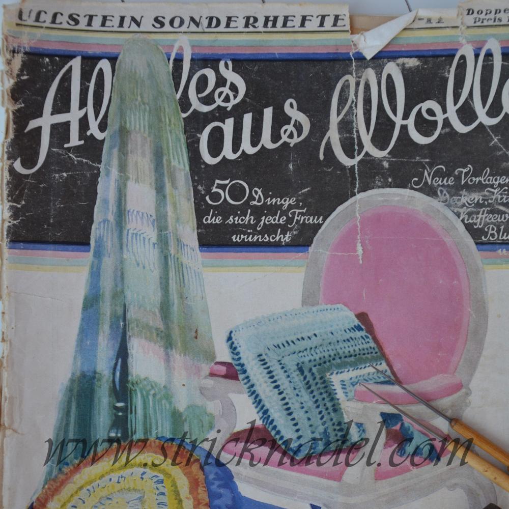 Alte Handarbeitszeitschirft aus dem Ullsteinverlag