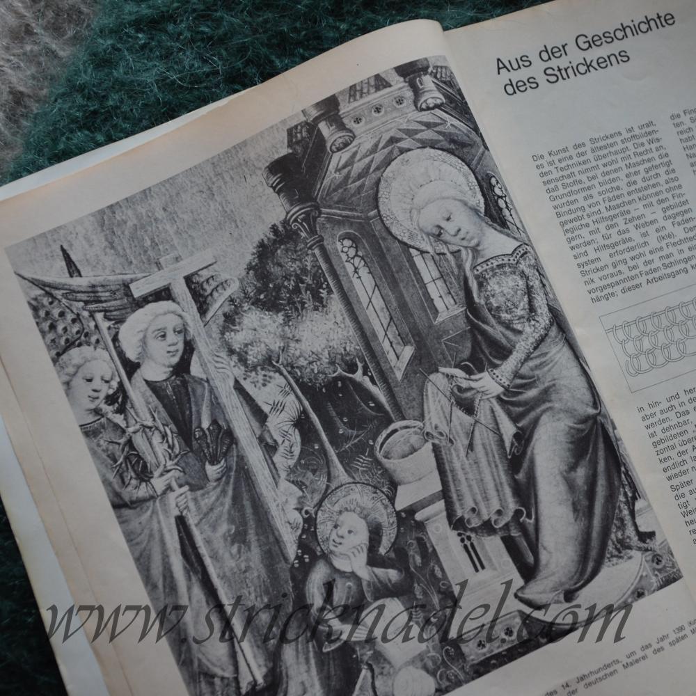 Altarbild mit strickender Maria